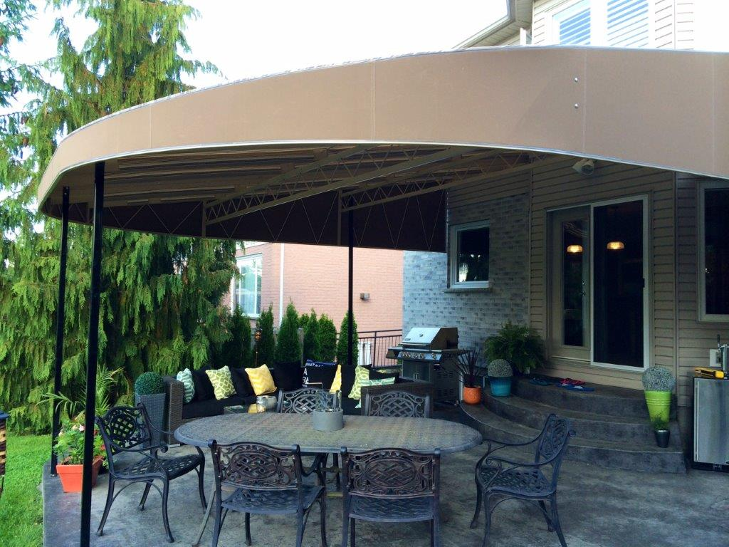 Residential Stationary Canopy