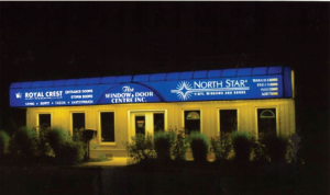 Commercial Backlit Awnings